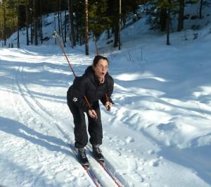 magedanser på ski